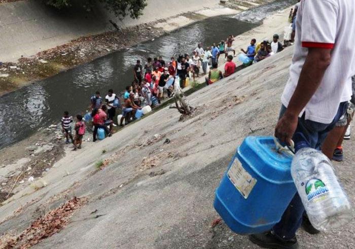 Potabilización del agua y desparasitación de la población en riesgo