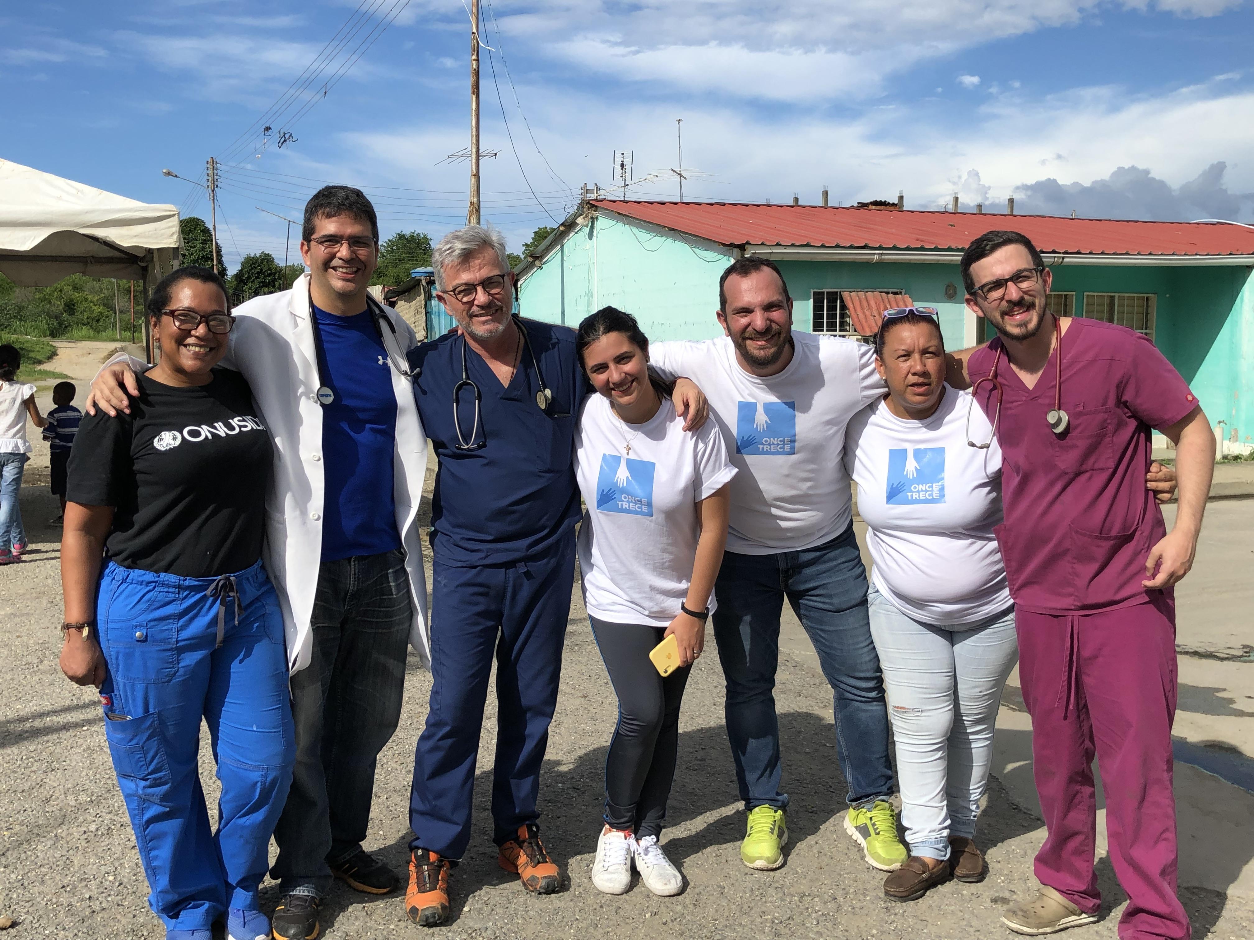 Operativo médico en Tacarigua de la Laguna