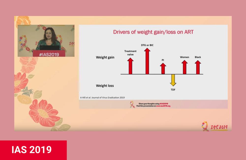 Dolutegravir lleva al aumento de peso en dos estudios africanos
