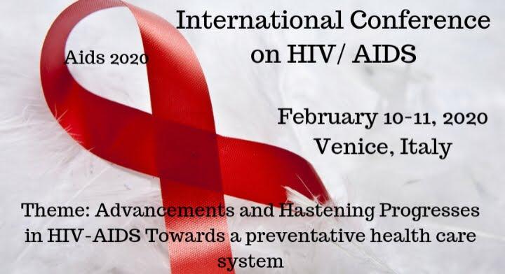 Conferencia internacional sobre el VIH / SIDA Lun, 10 11 de febrero de 2020