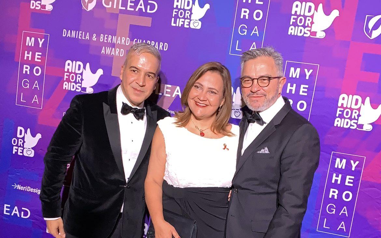 Otra edición de My Hero Gala de Aid For Aids en la ciudad de Nueva York.
