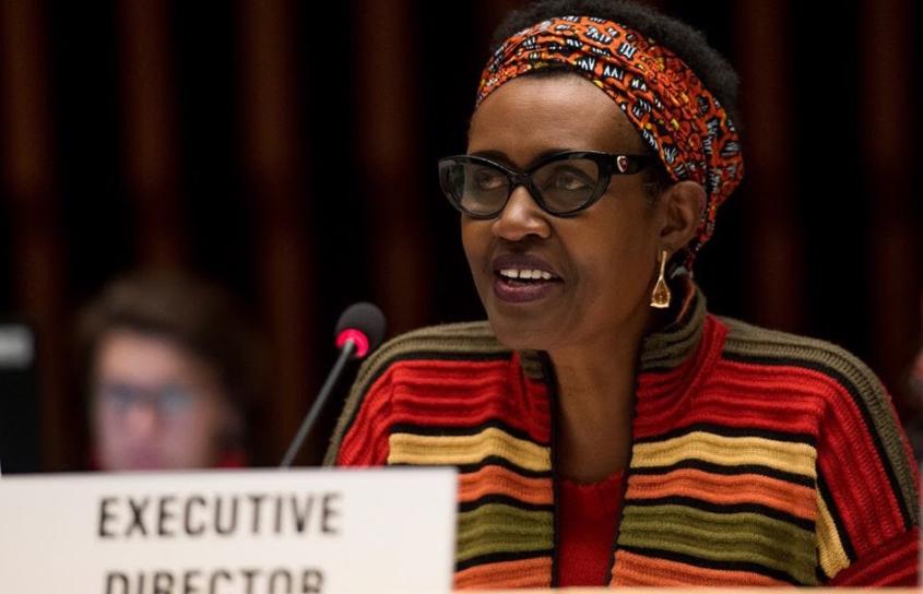 La Directora Ejecutiva de ONUSIDA expone su visión a la Junta de ONUSIDA