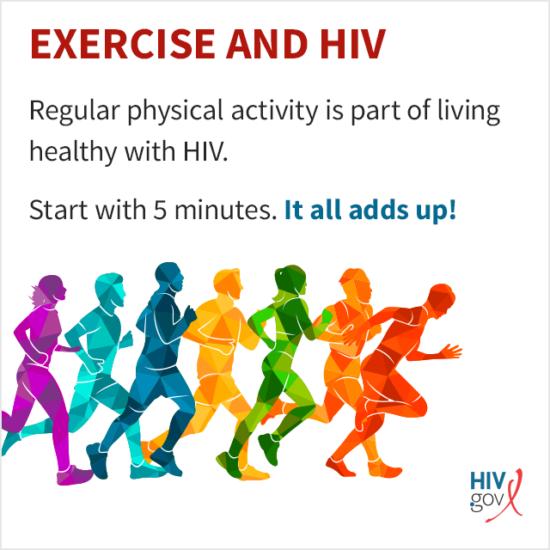 ¿Deberían las personas que viven con el VIH hacer ejercicio?