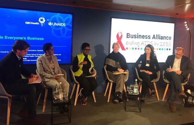 La Alianza Empresarial para Terminar con el SIDA para 2030 se anuncia en el Foro Económico Mundial