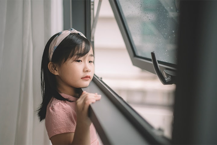 Niños y confinamiento en Wuhan