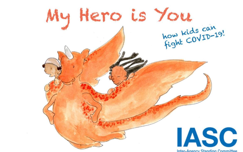 'Mi héroe eres tú', el cuento infantil de la OMS para explicar la pandemia