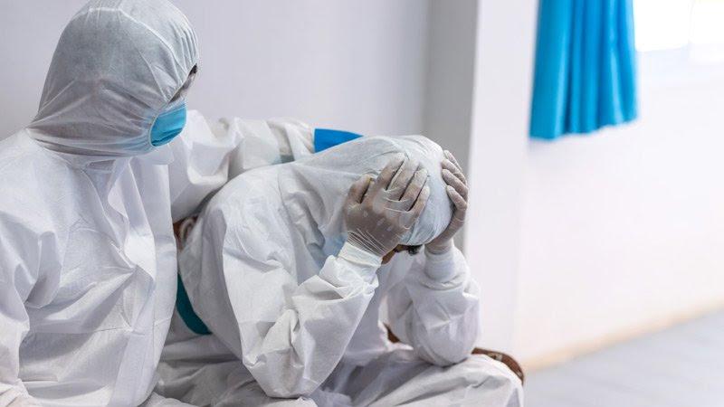 Aumento del estrés relacionado con la pandemia entre los médicos de la UCI