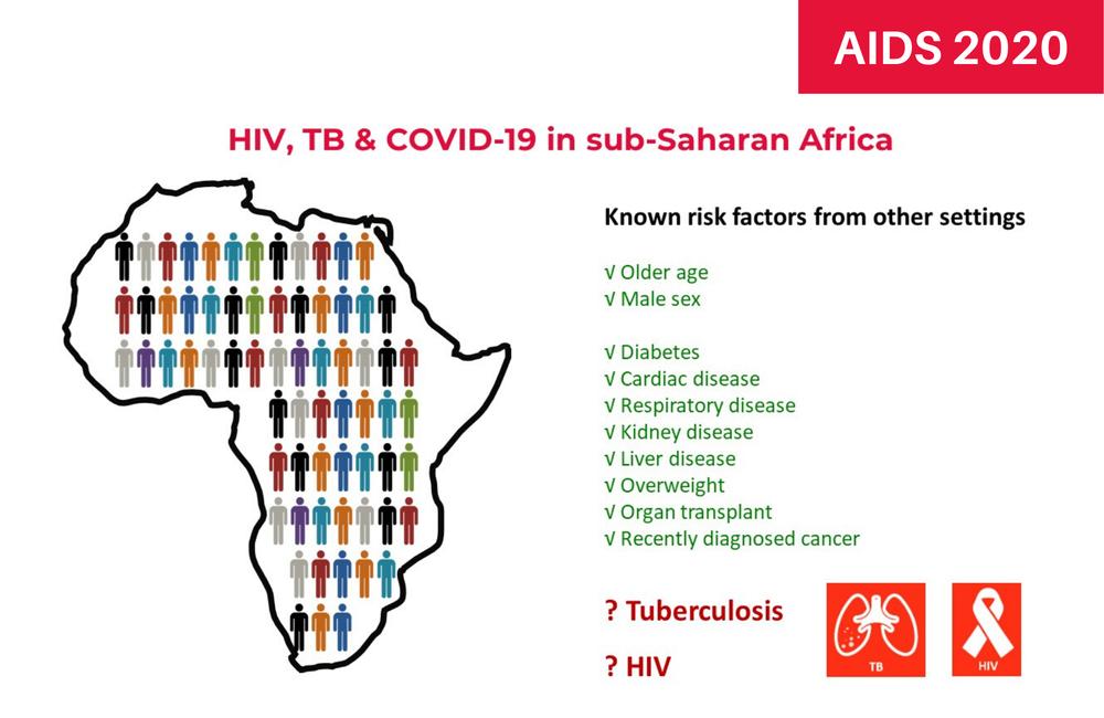El VIH aumenta el riesgo de muerte por COVID-19 en el Cabo Occidental de Sudáfrica