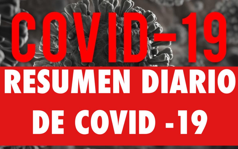 Resumen diario COVID-19