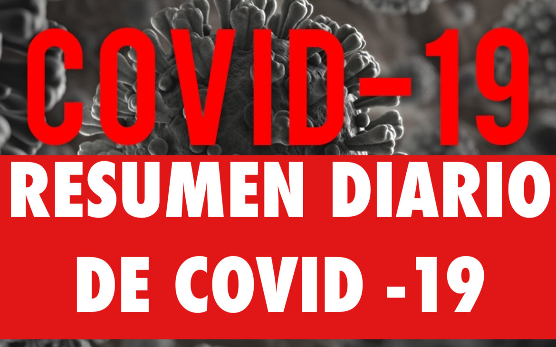 Resumen diario de noticias sobre COVID-19