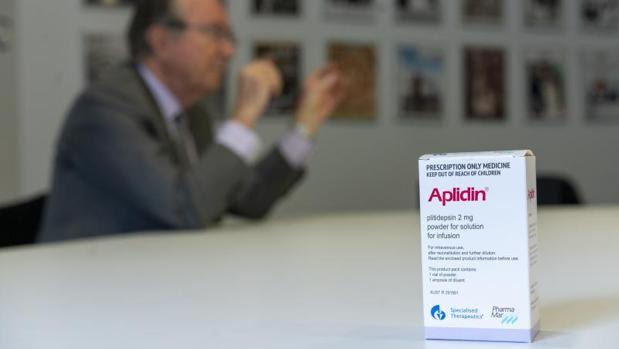 La plitidepsina (aplidina) se puede considerar para estudios clínicos Fase III para el tratamiento de covid-19».