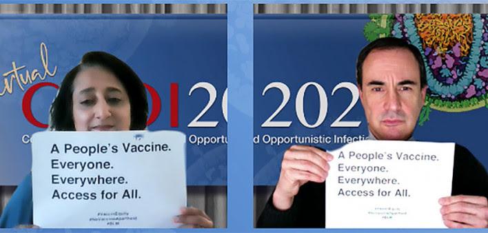 En CROI 2021, piden acceso global a las vacunas COVID-19